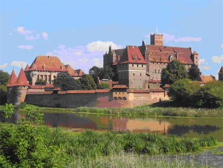 Die Marienburg. Foto: Opitz