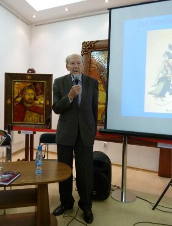 Hans Graf zu Dohna im Dohnaturm