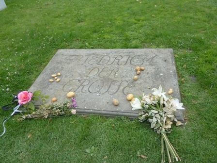 Das Grab Friedrichs des Großen