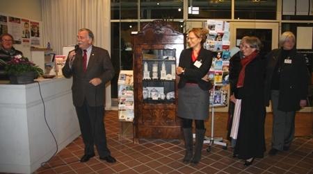 Eduard Kolle eröffnet den Museumsmarkt
