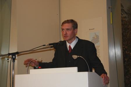 Uwe Neumaerker, Direktor der Stiftung Denkmal für die ermordeten Juden Europas