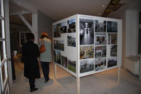 """Einblick in die Ausstellung """"Neues Bauen"""""""
