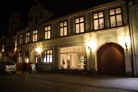 Das Scharffsches Haus in der Heiligengeiststraße 38. Hier wird noch bis 28. April die Ausstellung Neues Bauen gezeigt. In naher Zukunft wird es der Eingangsbereich des OL