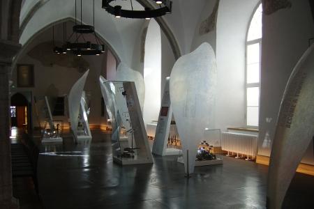 """Im Mittelalter trafen sich die reichen Kaufleute der Hansestadt in der """"Großen Gilde"""" - heute befindet sich hier das Estnische Historische Museum"""