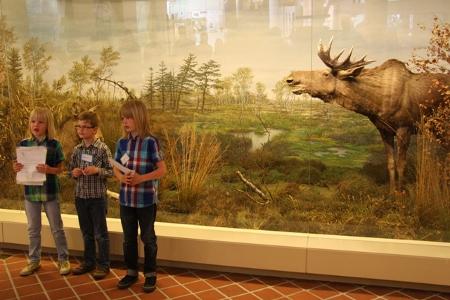 Auch die Kinder vom Museumskinderclub überzeugten