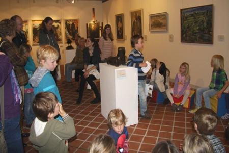 Fischotter Ingo ist bei allen Kindern beliebt. Zum Internationalen Museumstag erfuhren die Besucher auch etwas über die Lebesweise des Tieres.