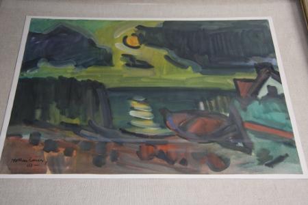 Ein Mollenhauer unter Glas: Strand am Kurischen Haff, 1961