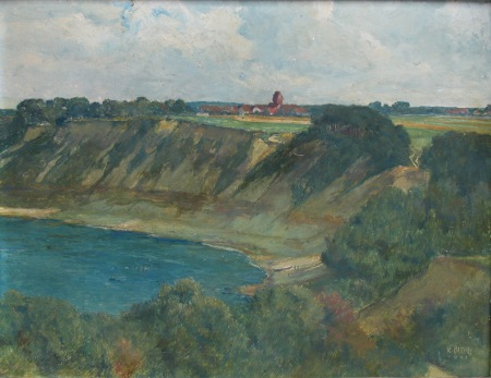 Karl Storch, Samlandküste bei Neukuhren, 1941