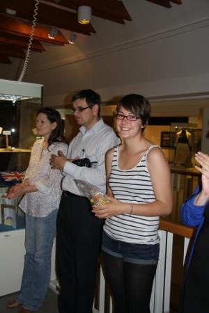Am meinem letzten Arbeitstag fand die Ausstellungseröffnung statt