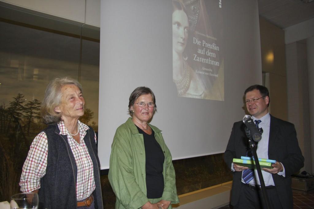 Ein Dankeschön vom Museumsdirektor Dr. Joachim Mähnert