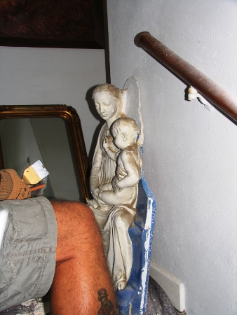 Ausbau des Madonnenreliefs in Bremen