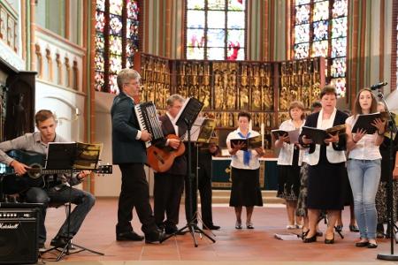 Der Chor der ev. Brüdergemeinde Lüneburg