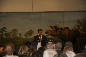 Das Grußwort vom Museumsleiter Joachim Mähnert
