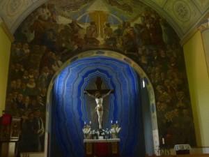 Das Altarbild in der Heydekrüger Kirche
