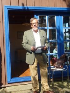 Vortrag von Uwe Meyer zur Geschichte des Thomas-Mann-Hauses