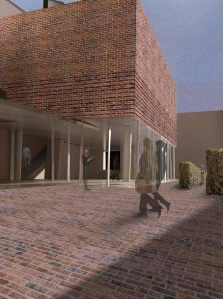 Visualisierung Neubau Ostpreußisches Landesmuseum (Gregor Sunder-Plassmann)
