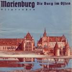Marienburg Prospekt. Städte und Regionen warben mit ihren jeweiligen Besonderheiten.1930er Jahre