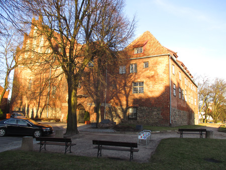 Die Burg in Rastenburg / Kętrzyn (Polen)
