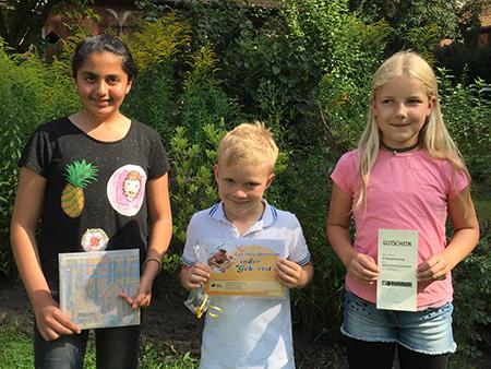 Glückliche Gewinner-Kinder beim Ferienstarter 2017