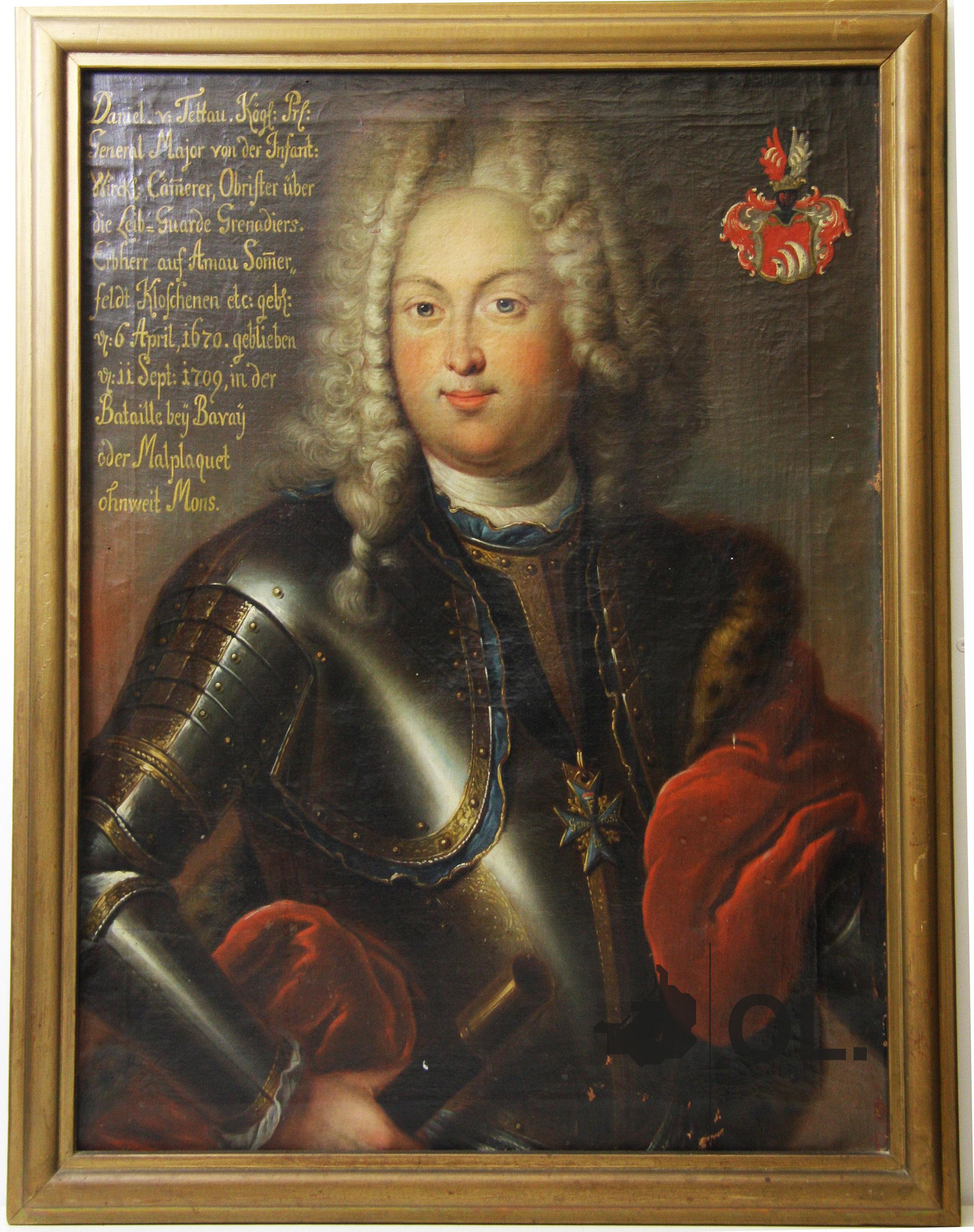 Porträt des Daniel von Tettau