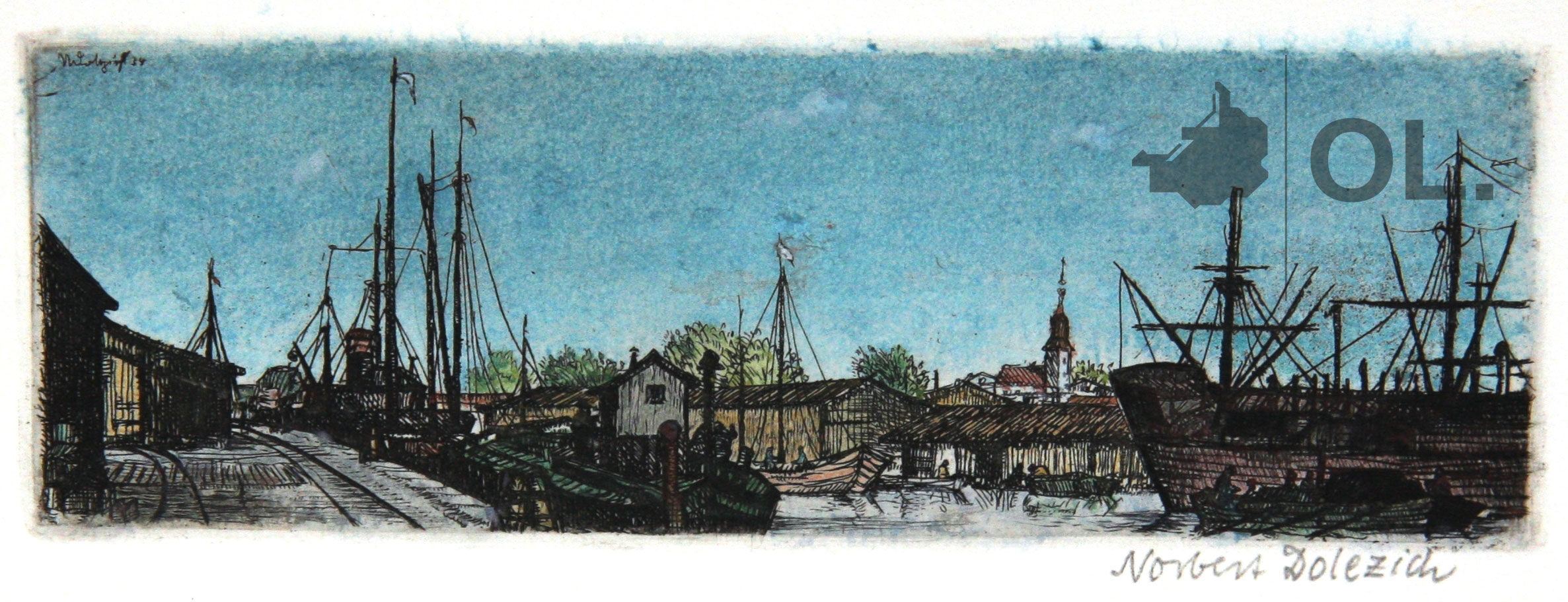 """""""Aus dem Königsberger Hafen"""" von Norbert E. Dolezich"""