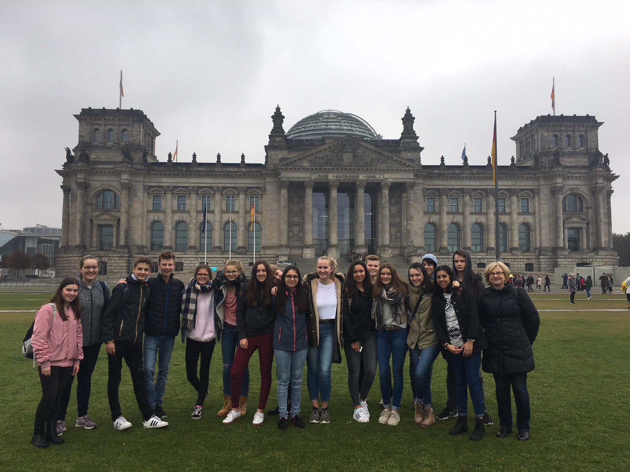 Unsere Gruppe in Berlin