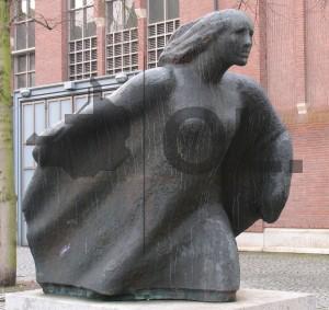 Objekt der Woche #29 – Hermann Brachert, Erinnerung an Ostpreußen, Bronze, 1970/71