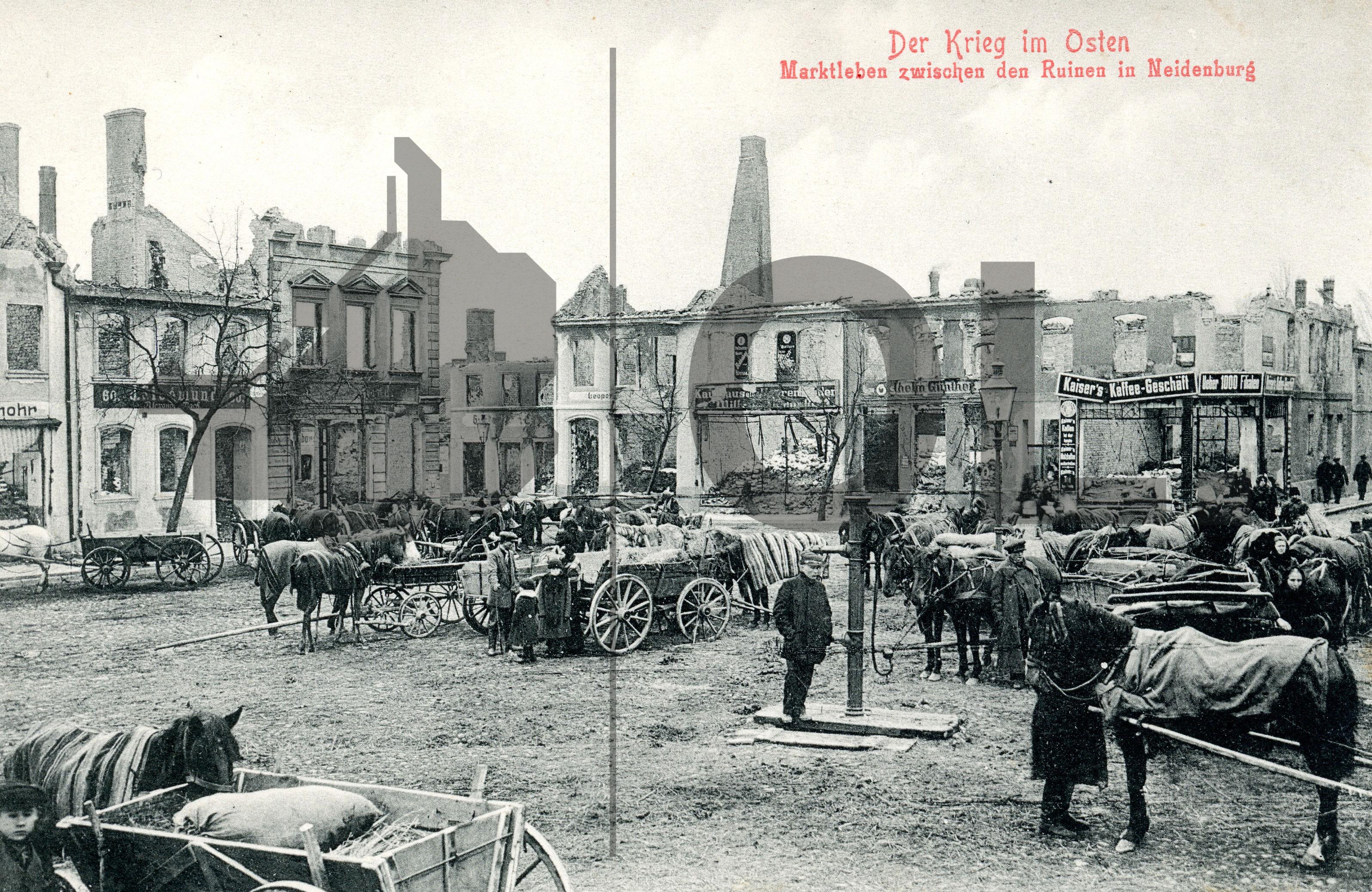 Objekt der Woche #28 – Das zerstörte Ostpreußen 1914