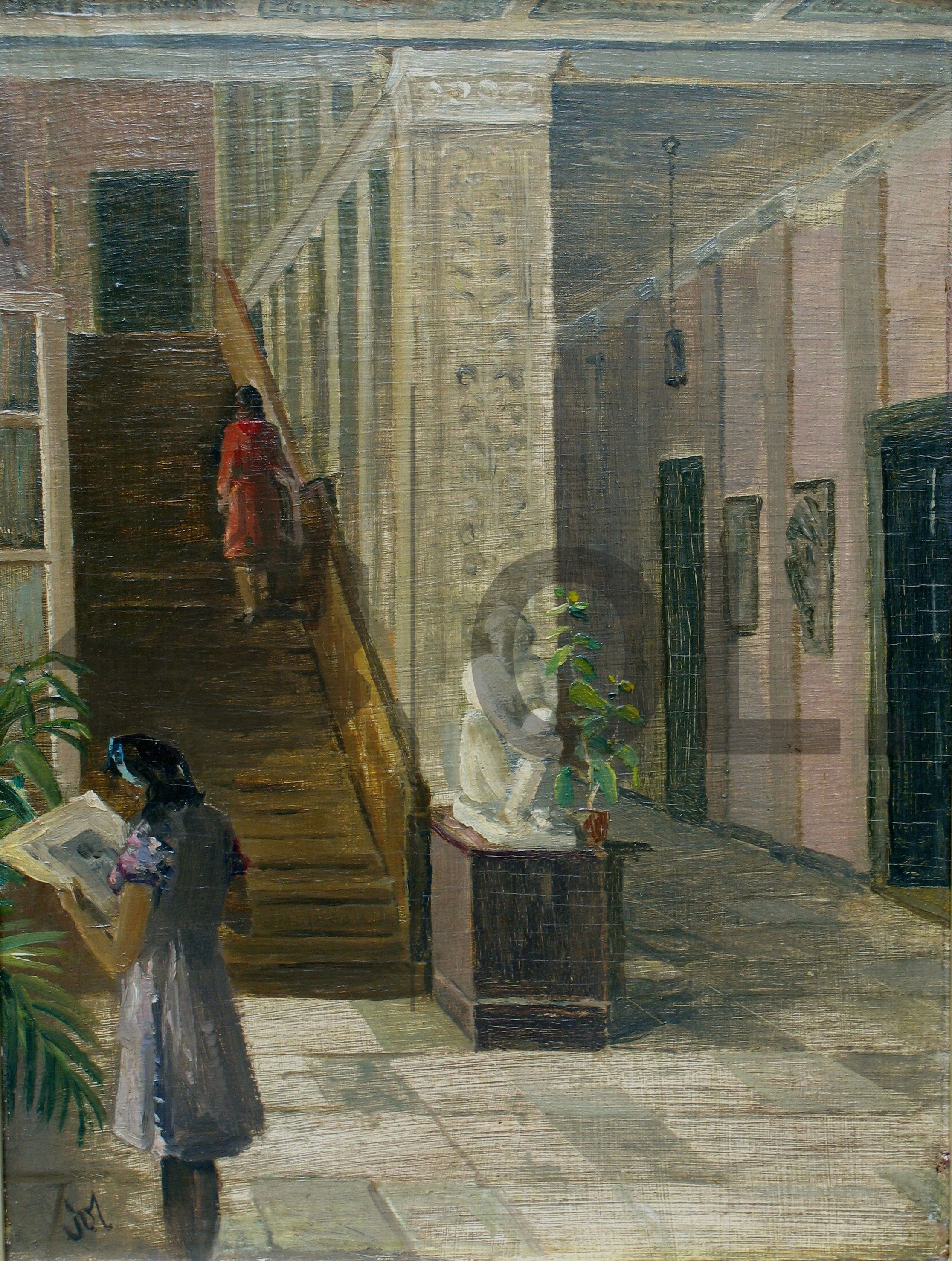 Objekt der Woche #31 – Blick in den Wandelgang der Königsberger Kunstakademie