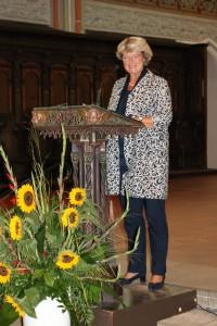 Prof. Monika Grütters, Beauftragte der Bundesregierung für Kultur und Medien in der St. Johannis Kirche