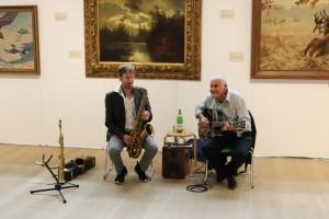 Hans Malte Witte und Giorgio Crobu