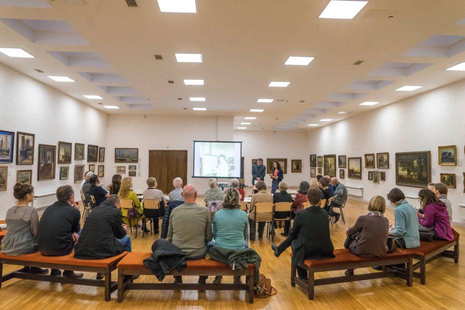 Eröffnung der Ausstellung am 25. Oktober 2019
