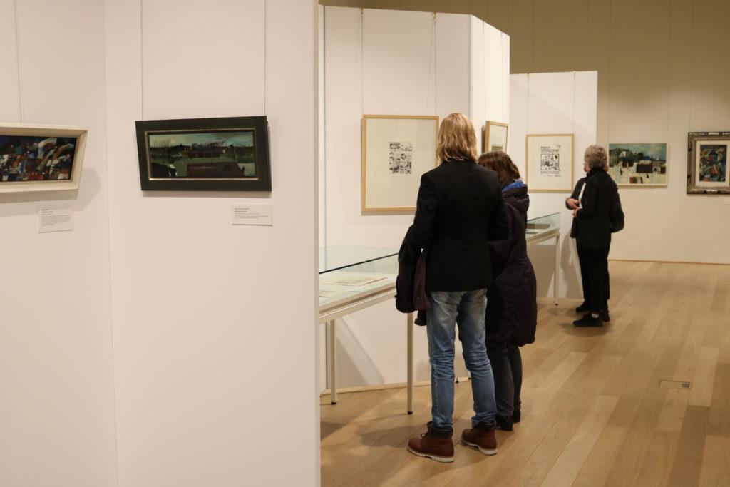 """Vernissage der Ausstellung """"Käthe Kollwitz"""" am 21.2.2020"""