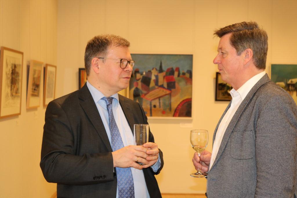 Museumsdirektor Dr. Joachim Mähnert, Eckhard Pols MdB